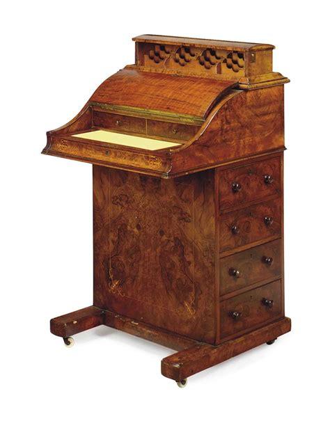 a victorian walnut davenport 19th century interiors auction davenport furniture