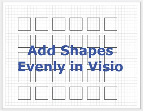 add shapes to visio how to add shapes evenly in visio sevenedges