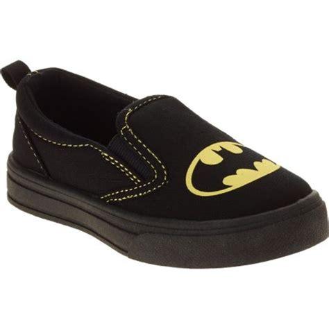 batman toddler boy s canvas slip on sneaker walmart