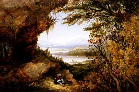 file meerabai painting jpg wikimedia commons file james hamilton scene on the hudson rip van winkle
