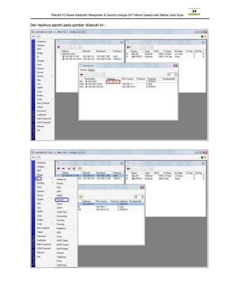 Instalasi Mikrotik Pc materi workshop instalasi mikrotik pc router with speedy