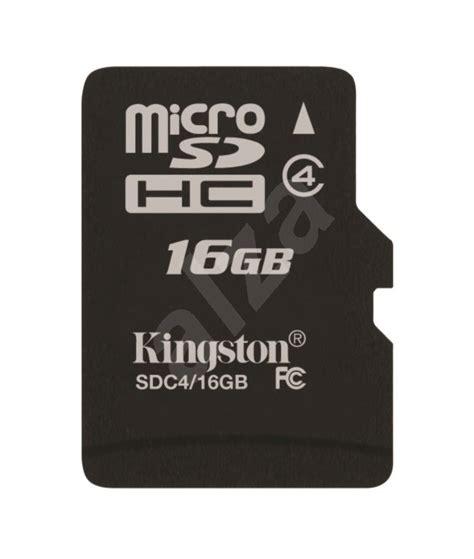 V Micro Sd 16 Gb Adapter kingston microsdhc 16 gb class 4 sd adapt 233 r pam 228 絅ov 225