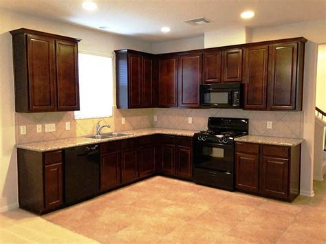 kitchen color ideas with oak cabinets and black appliances kitchens honey grey