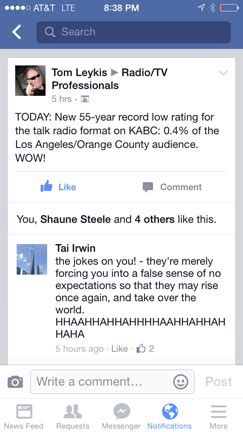 Los Angeles Radio People Template Kabc Ii Report Template