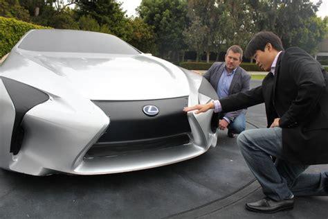 designer ls lexus bolder lexus design reflects confident customer choices goauto