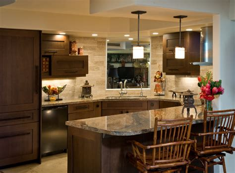 Designer Kitchens And Baths by Honolulu Downtown Condo Asian Kitchen