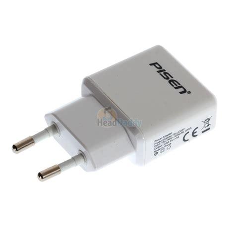 Pisen Tetrad Usb Charger White adapter usb charger ts uc037 pisen white