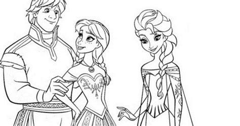 frozen coloring pages anna and kristoff family free printable walt disney characters frozen family elsa