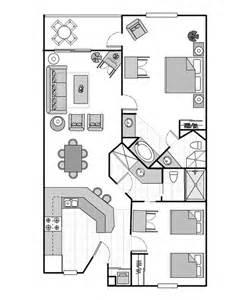 Sheraton Broadway Plantation Floor Plan 2 Bedroom Villa Sheraton Broadway Plantation Vistana