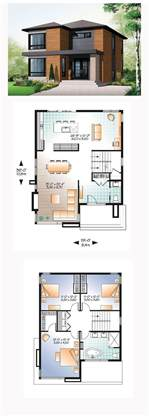 contemporary home floor plans best 25 modern house plans ideas on modern