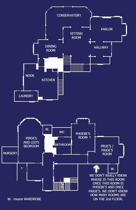 home layout plans charmed house blue prints homes from house blueprints charmed tv show charmed tv