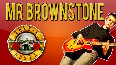free download mp3 guns n roses mr brownstone guns n roses mr brownstone full guitar lesson with solo