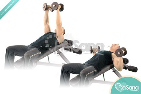 incline bench press dumbbells palms in incline dumbbell bench press
