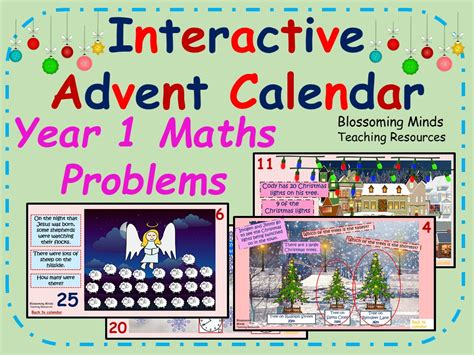 maths advent calendar printable early years teaching resources literacy and numeracy
