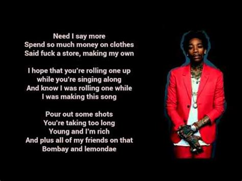 wiz khalifa lyrics wiz khalifa feat the weeknd remember you lyrics youtube