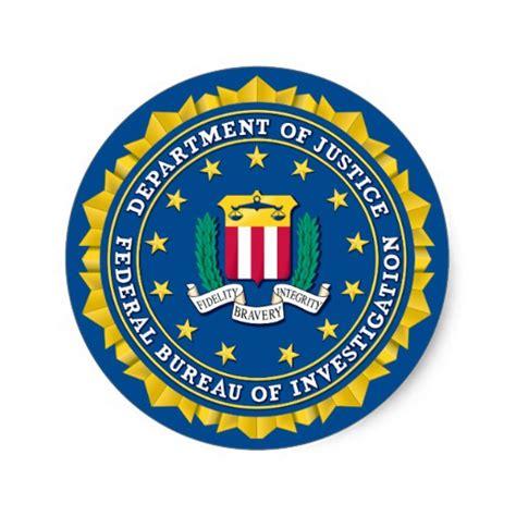 federal bureau of investigation federal bureau of investigation sticker zazzle