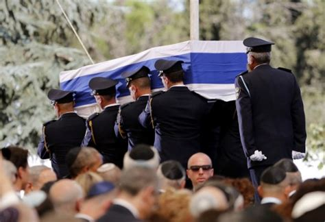 world leaders bid farewell to 20th century giant shimon