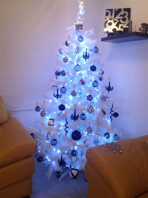 nuestro 225 rbol de navidad blanco y negro navidad