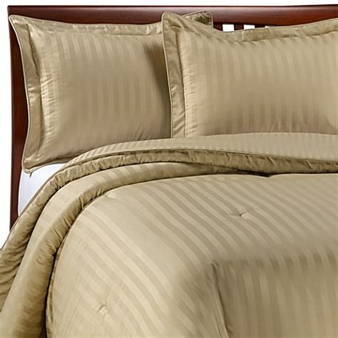 damask stripe comforter set wamsutta 174 damask stripe wheat twin mini comforter set
