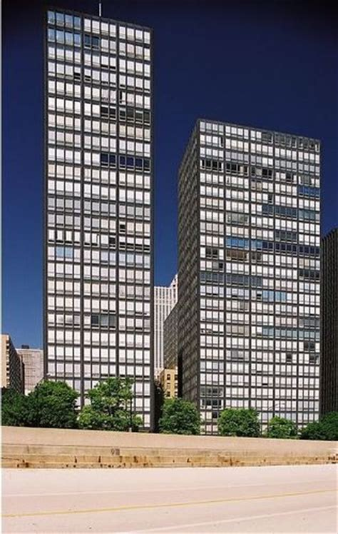 Apartments For Rent In Chicago Lake Shore Drive Ad Classics 860 880 Lake Shore Drive Mies Der Rohe
