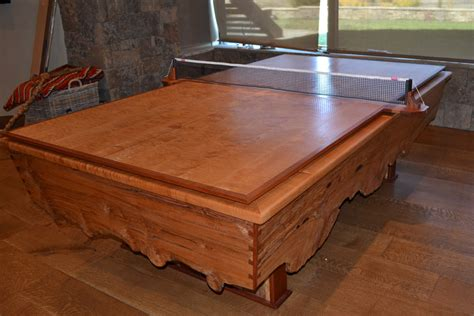ping pong table pool table ping pong table custom built by roaring fork custom billiards