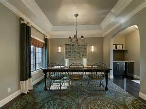 Dining Room Ceiling Ideas by Great Tray Ceiling Vs Coffered Ceiling Decorating Ideas
