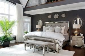 Hollywood glamour master bedroom oasis