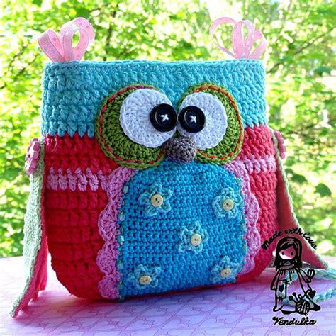 crochet pattern owl purse crochet pattern owl purse by vendulkam digital pattern