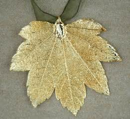 lofm gold full moon maple leaf ornament trisha waldron