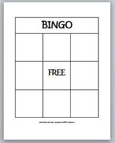 free blank bingo card template for teachers 1000 images about bingo on bingo
