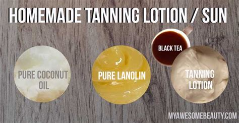 diy outdoor tanning how to make your own tanning lotion in easy steps