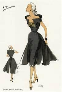 1950 s fashion illustrations fashion design inspiration sketches