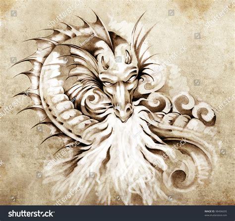 素描龙简单画法 素描龙的画法 龙的素描图片简单画法 埃及猫画法 龙的简单画法8岁