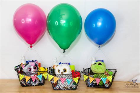 Diy hot air balloon party favors to take you up up and away