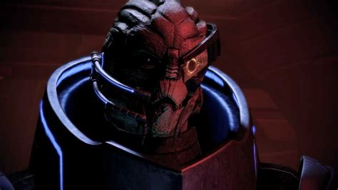 Wounded Tongue mass effect 2 garrus 4