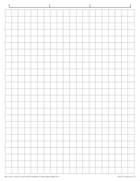 graphing paper template printable graph paper templates for word