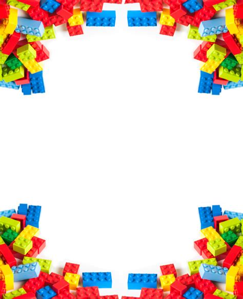 lego birthday card template 1000 images about border pages on page