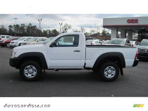 Toyota Tacoma Single Cab 4x4 2012 Toyota Tacoma Regular Cab 4x4 In White 008199