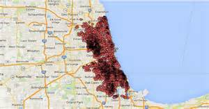 Map Of Chicago Shootings by Lindsey Murphy S Blog Graduate Journalism