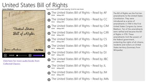 printable version of the us bill of rights full rights apps windows