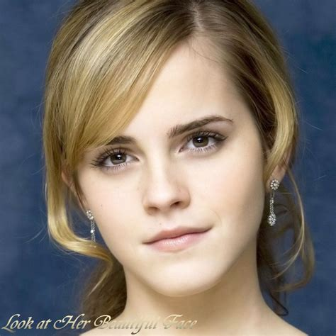 emma watson face shape look at her beautiful face look at emma watson beautiful face
