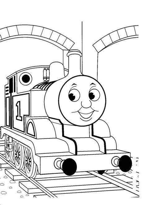 coloring page train station free printable train coloring pages for kids free