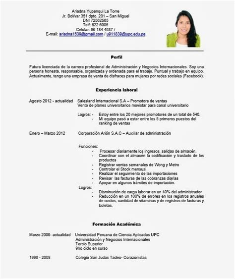 Plantilla De Curriculum Por Competencias Search Results For Curriculum Vitae Images Calendar 2015