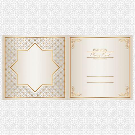 Wedding Invitation Design Ai by Golden Invitation Card Design Vector Free