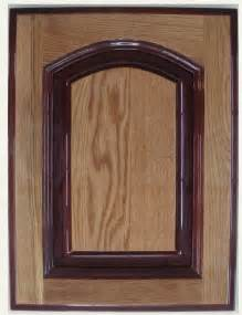View large photo of solid wood kitchen cabinet door