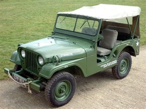1953 Willys Jeep 1953 Willys Jeep M38a 1 Cars Trucks And Buses