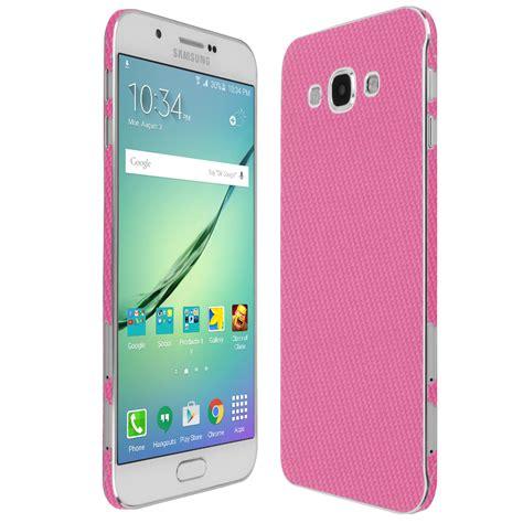 Samsung Galaksi A8 skinomi techskin samsung galaxy a8 pink carbon fiber
