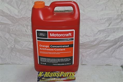motorcraft engine coolant system anti freeze vc