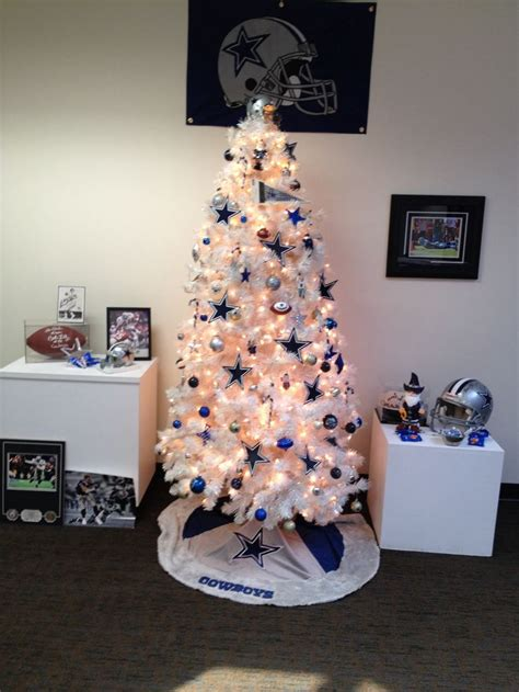 dallas cowboys christmas tree dallas cowboys pinterest