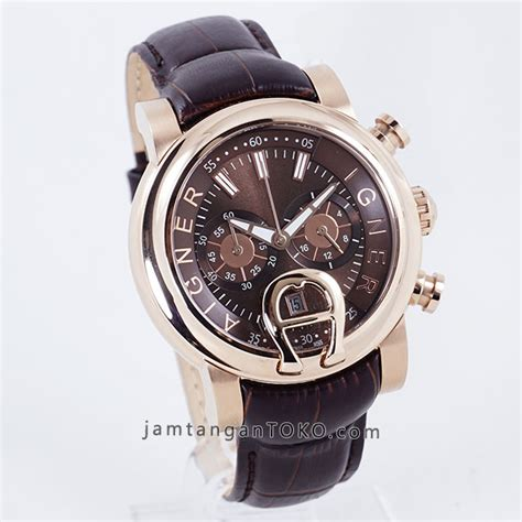 Jam Tangan Wanita Aigner Bari A007 Leather D harga sarap jam tangan aigner bari chronograph brown leather